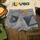 [USED] BACKがカワイイ♡Levi's CUTOFF Denim Shorts