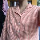 [USED] L.L.Bean 開襟ギンガムチェックシャツ