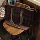 [USED] L.L.Bean wool×leatherボストン