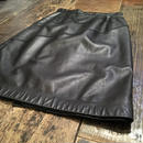 [USED] REAL Leather ミディアムタイトスカート