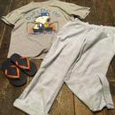 [USED] 淡い CHK の パジャマパンツ