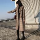 厚手グレンチェックチェスターコート 2色 XXS-L