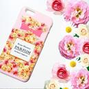 スマホケースAICA-24 ローズシャワーパルファン ピンク iPhone5/5s/5c/6/6s/Android