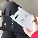 猫ちゃん iPhoneケース 白黒2color 118