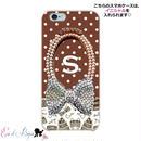 スマホケースERICA-21 Shopaholic柄×ドット② iPhone5/5s/SE/5c/6/6s/Android