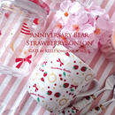 【単品】AnniversaryBearStrawberryBonbon転写紙 パターン&フレーム