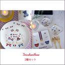 【新柄★4枚セット】 TricoloreBear 2種×2枚の4枚セット ¥5120→