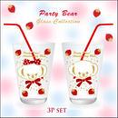 【ガラス用★3枚セット】PartyBearCollection転写紙