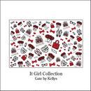 【単品★限定OFF】It Girl Collection転写紙/レッド
