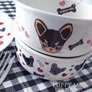 【単品】PUPPY MIU転写紙/パターン/チョコ×クリーム¥1280→