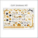 【ハロウィン限定キャンペーン2枚以上購入で¥200OFF!】【単品】Gift Journal NY 転写紙 ¥1690→