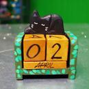 OUIZIO:黒猫カレンダー(Type-Sleep)