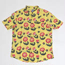 RVCA  PELLETIER TROPIC S/S SHIRTS / YELLOW