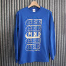GEE ORIGINAL L/S T-SHIRTS / BLUE