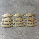 ドレスデンペーパー 魚 ゴールド