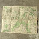 チェコの古い布張り地図 MALDA BOLESLAV