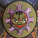 Indian face mandala  iron on patch