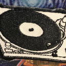 Turntable  iron on patch