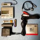 MDポータブルレコーダー Panasonic SJ-MR100-S 非MDLP 完動品