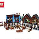 キャッスル 中世のマーケットヴィレッジ 10193相当 レゴブロック 互換品 LEPIN 社