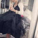 mom's disappoint  tulle  skirt