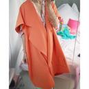 circle jacket orange