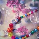 florian necklace multi color