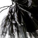 tulle bag  black