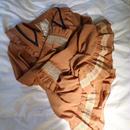 """Chiffon blouse brown""""overlace"""""""