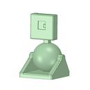 3Dデータ Raspberry Pi専用cameraモジュール用 台座ケース