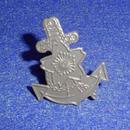 日本海軍九〇式鉄帽用帽章