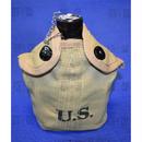 (複製品)WW2米軍M1941水筒 アルミ合金製 アメリカ陸軍