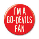 GO-DEVILS FAN  Large Button