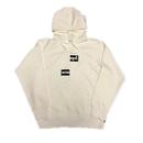 Supreme Comme des Garcons SHIRT Split Box Logo Hooded Sweatshirt White M 18AW 【新作】