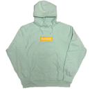 Supreme Box Logo Hooded Sweatshirt Ice Blue L 17AW 【新品】