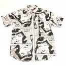 Supreme Thrasher Boyfriend S/S Shirt M White 17SS 【中古】