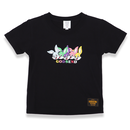 5FACE  RABBITS  T-Shirts  BLACK