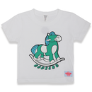 ROCKING  HORSE  T-Shirts  WHITE