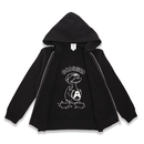 IN  PRINT ZIPUP  HOODIE  ANARCHY  DUCK ダック ジップ パーカー