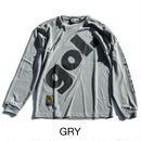 【50%オフ】ビッグロゴ ロングプラクティスシャツ (G725-750)