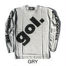 【20%オフ】BIGロゴロングTシャツ(G791-688)