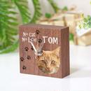 小っちゃな木製置き時計 ブラウン オーダーメイド時計