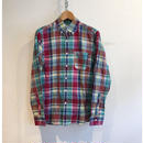 "J.Crew ""Indian Madras"" B.D Shirt   Red×Green"