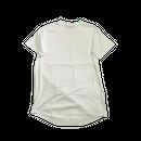 ※取寄せです※ Blank Round Hem T-Shirts - WHT / 無地ラウンドヘムT - 白