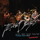 TEARDROPS  LIVE 1990 'BAUS THEATER' Vintage Vault vol.2(2CD+DVD)生産限定商品