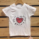 【H17S01】Smile High Club Heart  Tshirts (通常価格:2592円)
