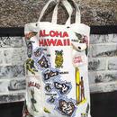 【R17S04】ハワイアンプリント トートバッグ(通常価格:4,536円)