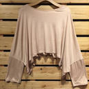 【Z17S07】Laughaha loose top (通常価格:7,020円)