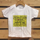 【H17S04】Smile High Club yellow logo T-shirts (通常価格:2592円)