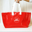 【R18A01】R Wet Big TOTE ・RED×WHITE(通常価格:9288円)